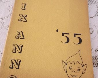 Ontario California Vina F Danks High School Yearbook Pixano 1955