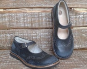 Handmade leather mary janes New Vintage
