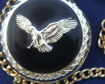 Popular items for eagle pocket watch on etsy for Consul use cases