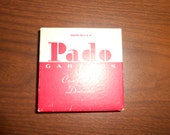 PADO  vintage men's sock garters. New in package single hook solid blue elastic