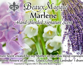 Marlene - Hand Blended Signature Scent *LIMITED SUPPLIES