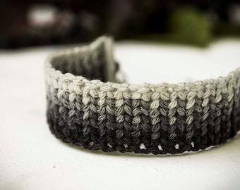 Black and White Friendship Bracelet