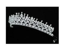 Wedding Tiara, Bridal Tiara, Swarovski Wedding Rhinestone Tiara, Bridal Swarovski Rhinestone Headband, Wedding Headpiece, Hair Jewelry
