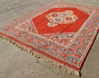 Large 'Seljuk' Turkish Rug -- 12 ft 7 in. by 8 ft. 6 in.
