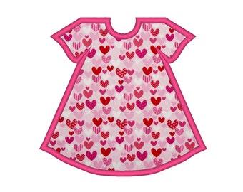 Basic Baby Dress Applique Machine Embroidery Design
