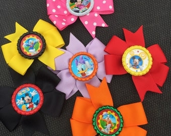 Mickey Mouse Club House Hairbows