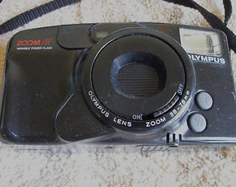 Olympus Infinity Zoom 210 Point & Shoot 35mm Camera Works C6-8