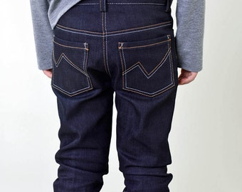 Boys Pattern - Jagger Jeans PDF Pattern and Tutorial. Make this in sizes 2Y to 10Y.
