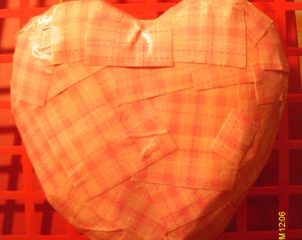 Cute Valentine Heart Paper Mache Wall Hanging #2