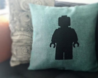Lego Minifig Pillow Case