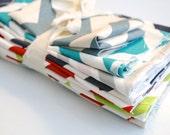 Fabric Scraps - Premier Prints ZigZag - Many Colors