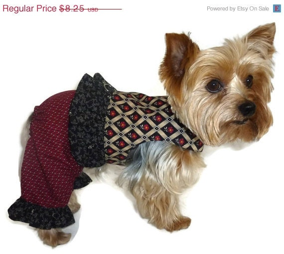 On Sale 20 Off Dog Clothes Sewing Pattern 1548 Elli Kay Pantsuit