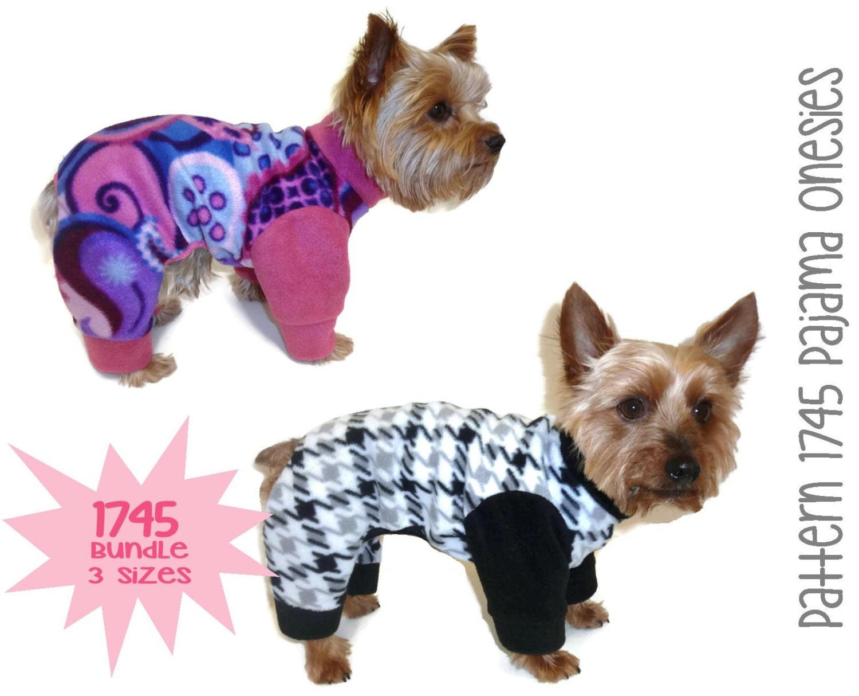 Dog Pajama Patterns - Patterns Kid