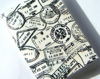 Passport Cover Case Holder -- Passport Stamps