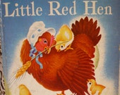 Vintage Little Golden Book The Little Red Hen 1957 **Epsteam