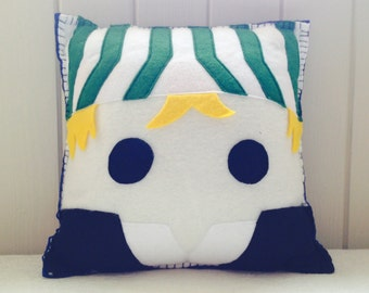 Kisuke Urahara Bleach themed pillow/cushion