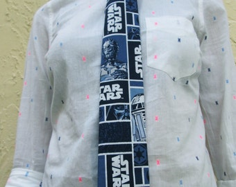Star Wars Ties/ Jedi Ties/ Geekery/ Neck Ties/ Handmade Ties/ Star Wars Comics