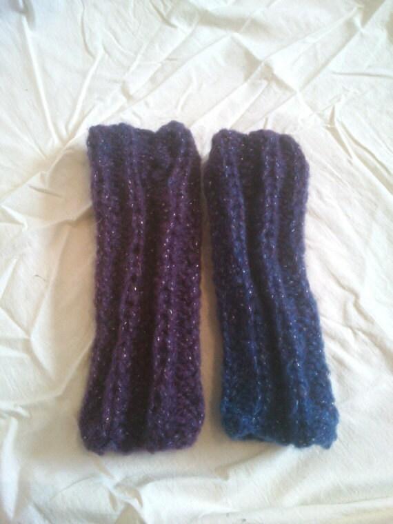 KNITTING PATTERN Ribbed mittens beginners knitting knitting