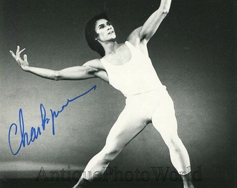 Charles Jude ballet dancer star vintage signed autographed photo