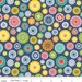 "Riley Blake Designs ""Lazy Day Flannel"" - Blue Floral"