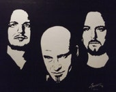 Disturbed in Art is a Limited Edition Print of the Original Artwork done by Artist Charles Freeman
