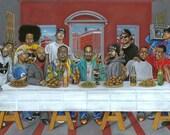 "Rap's Last Supper - 12""x18"" print"