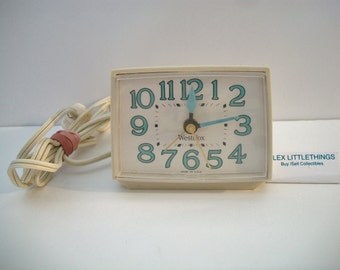 Vintage Westclox Electric Alarm Clock Retro Model 22090-22540 Made in USA