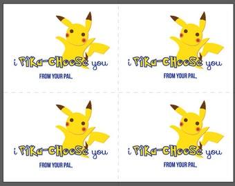 Pokemon Valentines Pokemon Go Valentines Pikachu Valentines