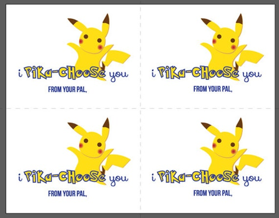 Juicy image with regard to pokemon valentine cards printable