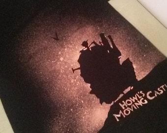 Handmade Howl's Moving Castle Bleach Shirt