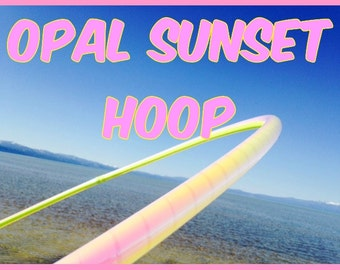 Opal Sunset Specialty Taped Practice Hoop -  By Colorado Hoops