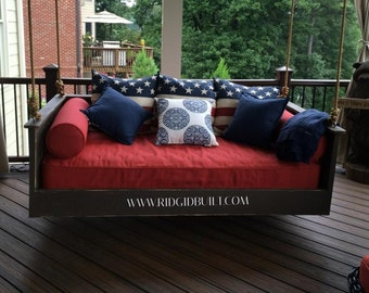 """Mission Style """" custom daybed swing"""