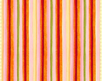 Catalina Orange Stripe (8408-OR) by Marti Michell for Maywood Studios - Yardage