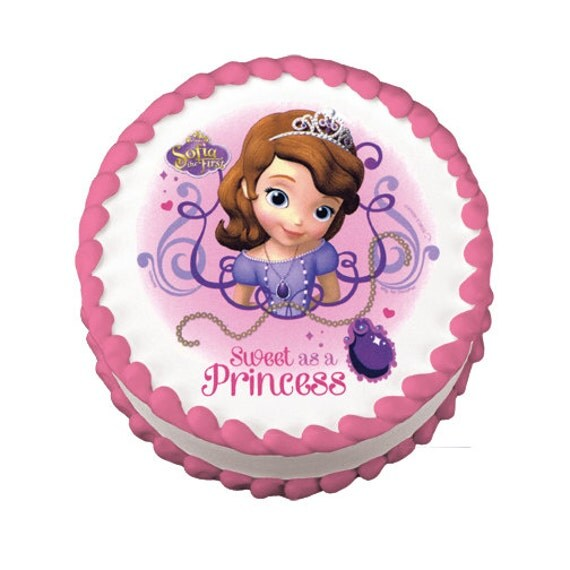 Licensed Edible Cake Images : Officially Licensed Sofia the First Unpersonalized Edible ...