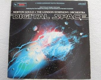 "Morton Gould, The London Symphony Orchestra - ""Digital Space"" vinyl record, Japan Import"