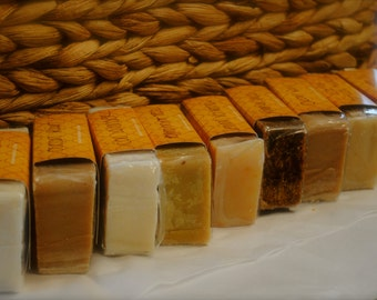9 is Fine! Choose your Nine of your choice - natural and organic handmade soaps
