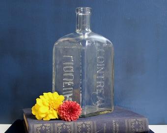 Square Vintage Cointreau bottle