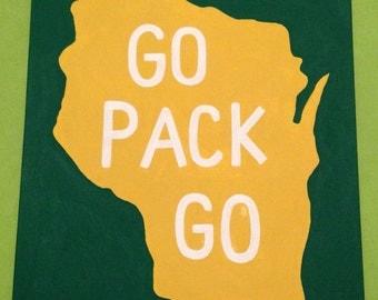 Green Bay Packer Canvas