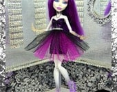 "Monster Doll ""Ghostly Couture"" high fashion dress"