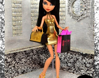 """Monster Doll """"Golden Ghoul"""" fierce high fashion outfit"""