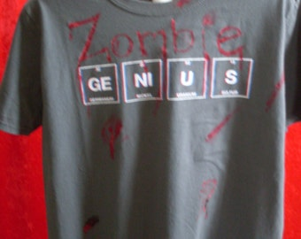 New Altered Zombie Genius Tshirt