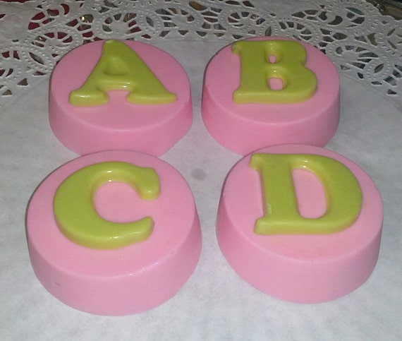 letter name cookies baby shower favors baby christening gender reveal