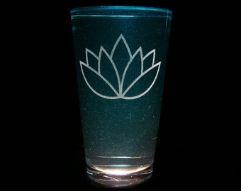 Lotus or Aloe Cutie Mark - Pint Glass
