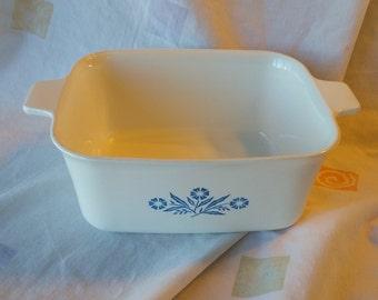 On Sale Corning Ware 1.5 Quart Cornflower Rectangular Casserole Dish or Loaf Pan