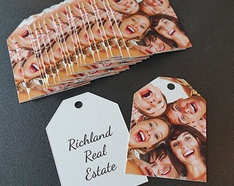 100 Gift Tags and Favor Tags for Businesses, Churches, and Groups