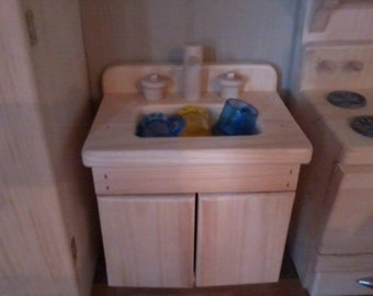 "18"" DOLL KITCHEN SINK"