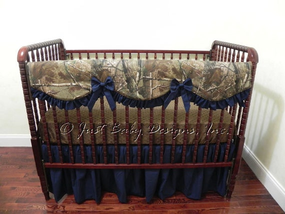 Camo Baby Bedding Set Gretchen Baby Girl Bedding Bumperless