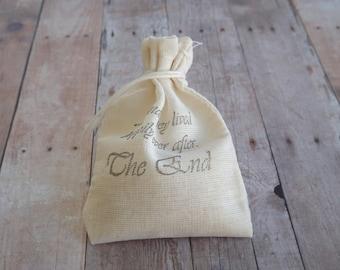Wedding Toss Bags- Birdseed Bags- Wedding Send Off Bags, Engagement, Bridal Shower- Wedding Favor Bags-set of 25