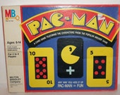 Pac-Man Vintage 80's Card Board Game Atari Game FUN