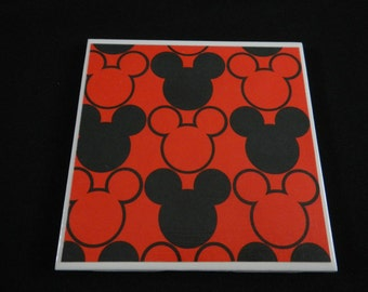Mickey Mouse Coasters